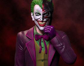 FANART Joker Batmask - Bust 3D print model