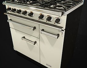 appliance 3D model Oven Range Cooker