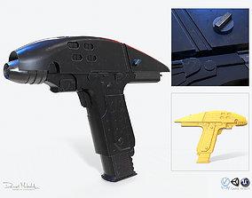 3D asset Phaser Gun Type 2 2287