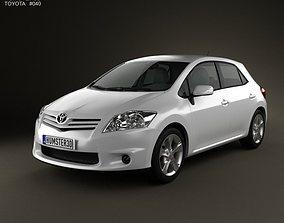 Toyota Auris 2012 3D