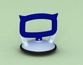 Suction cup-vantuz 3D model