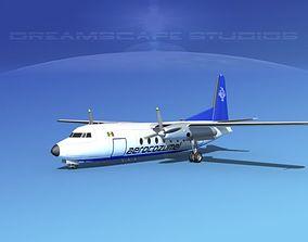 Fairchild FH-27 Aero Cozumel 3D model