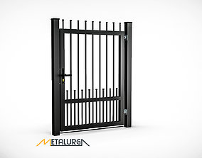 grid 3D model Gates made in Solidworks