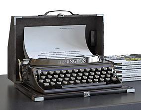 Remington typewriter portable 3D model