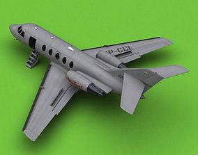 3D Dassault Falcon 20 200 New Yorker