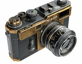 Nikon S3 Film Camera optical 3D