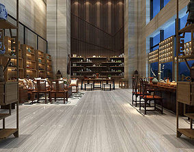 Business Restaurant - Coffee - Banquet 05 3D model