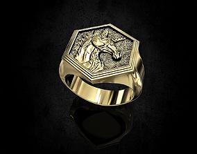 Unicorn Ring 3D printable model