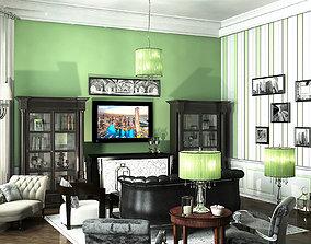 3D model Postmodernism Liveroom