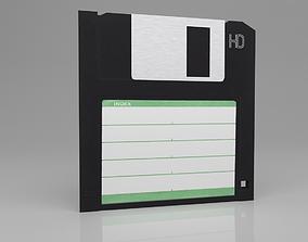 Floppy Disk Storage 3D asset realtime