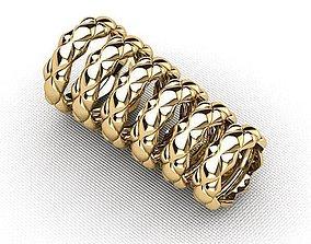 Set wedding ring 3D printable model