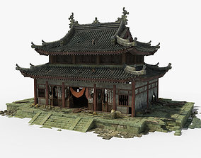 temple Chinese Temple 3D