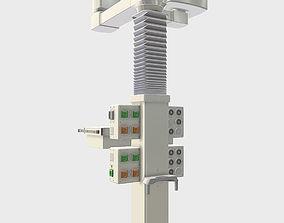 Medical Tray Boom 3D model