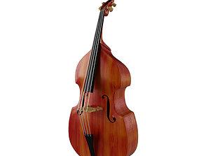 3D model viol Contrabass