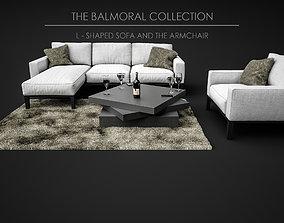 3D model Sofa Set - The Balmoral Collection 05