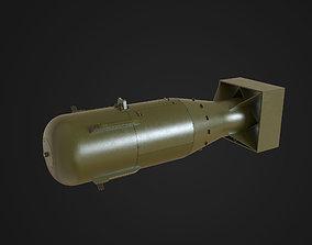 3D asset realtime Little Boy Atomic Bomb
