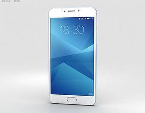 3D model Meizu M5 Note Blue