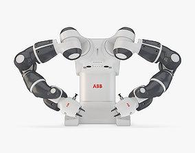 ABB Yumi Industrial Robot 3D model
