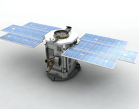 CloudSat Satellite 3D asset