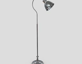 3D asset Standing Lamp 4