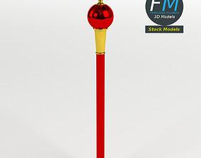 Heraldic scepter 3D model