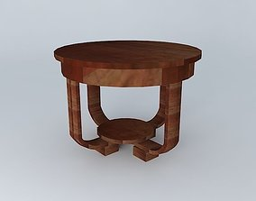 Coffee table Charleston 3D model