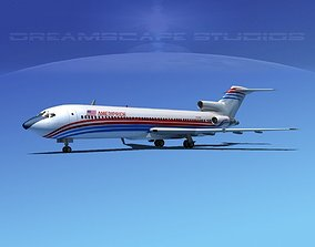 Boeing 727-200 Corporate 4 3D model