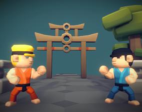 3D asset Karate Set - Proto Series