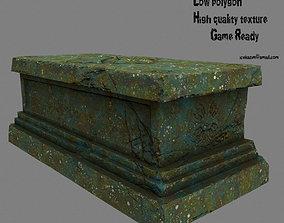 3D asset base statue 1