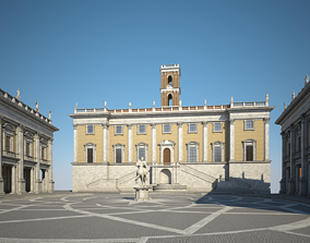 3D Capitoline Hill