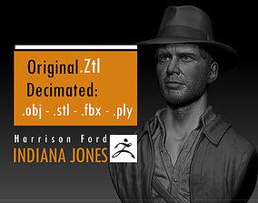 Harrison Ford Indiana Jones 3D printable model