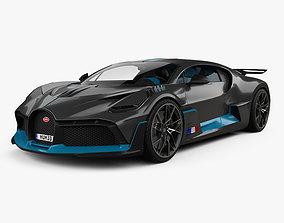 Bugatti Divo with HQ interior 2019 3D
