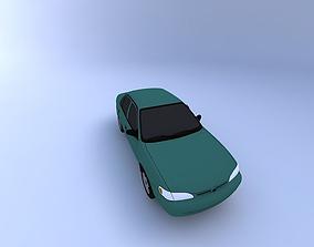3D 1999 Toyota Corolla