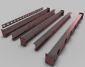 Industrial-Beams 3D model