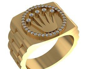 3D print model Rolex Mens Ring