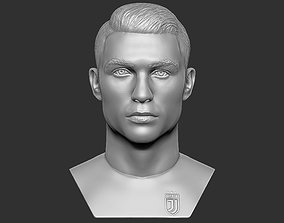 Cristiano Ronaldo bust for 3D printing