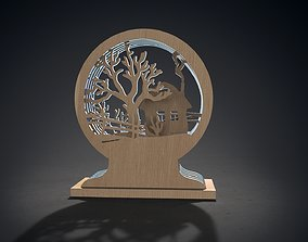 3D model Decorative frame