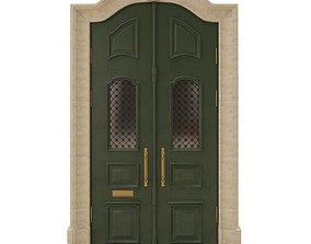Entrance classic door 23 3D