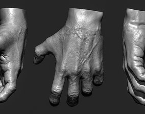 3D Realistic male hand