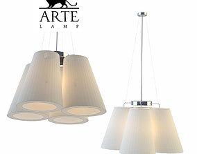 3D model Chandelier Arte lamp A9535LM-5SS Paralume
