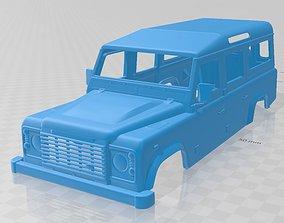 Land Rover Defender 110 2011 Printable Body Car