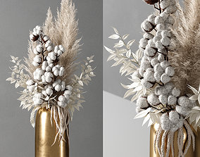 3D model decorative vase 10