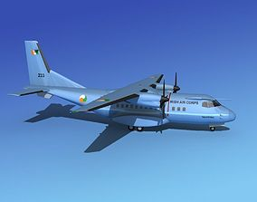 3D model Casa CN-235 Irish Air Corps