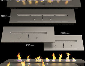 3D Fireplace set