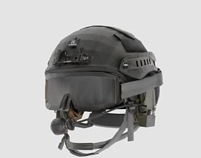 Military Helmet 3D asset PBR