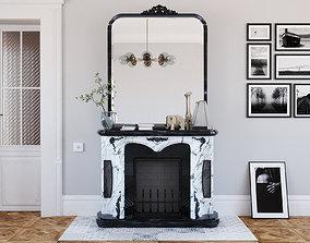 3D Fireplace 0204