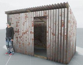 Shanty - rusty 3D model