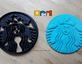 Starbucks logo 3D print model