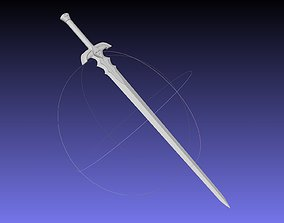 Fate Astolfo Sword Printable Assembly