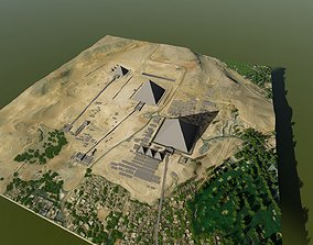 3D Pyramids in Cairo